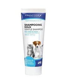 Francodex Gentle švelnus šampūnas šuniukams ir kačiukams 200 ml