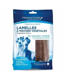 Francodex didelės juostos nuo dantų akmenų ir blogo kvapo 490 g/15 juostų