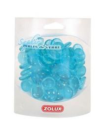 Zolux stiklo akmenukai mėlyni 400 g