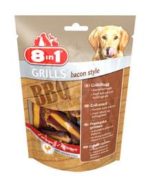 8IN1 skanėstai Grills Bacon Style 80 g