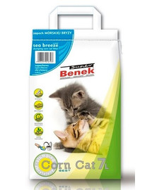 Benek Super Corn Cat Corn kukurūzinis kraikas - Sea Breeze 7 l