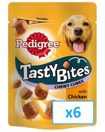 Pedigree Tasty Bites Chewy Cubes 6 X 130 g