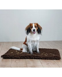 Trixie kilimėlis su pėdutėmis sugeriantis nešvarumus 80 × 55 cm