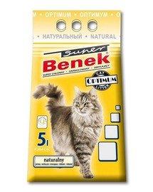 Benek Super Optimum natūralus kraikas katėms 5 l