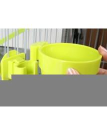 Zolux pakabinamas plastikinis dubenėlis vidutinis 9,5 cm