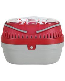 Zolux Transporter Mini graužikams raudonas