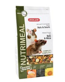 Zolux maistas Nutri'Meal žiurkėms ir pelėms 800 g