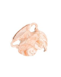 Zolux dekoracija amforos fragmentai su drambliais 5 cm