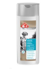 8in1 šampūnas jautriai odai 250 ml