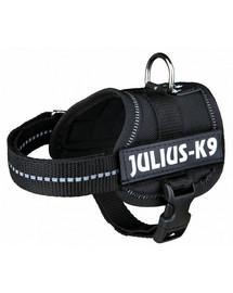 Trixie petnešos Julius-K9 Xl 82–116 cm/ 50 mm juodos