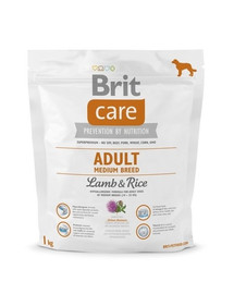 Brit Care Adult Medium Breed Lamb & Rice 1 kg