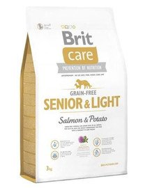 Brit Care Grain-Free Senior Salmon & Potato 3 kg