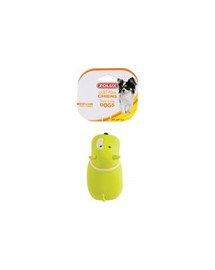 Zolux žaisliukas lateksinis šuo 11 cm, skirtingi raštai ir spalvos