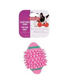 Zolux žaisliukas vinilinis kamuoliukas su dygliukais 7 cm