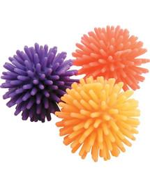 Zolux žaisliukai katėms 3 dygliuoti kamuoliukai 4 cm