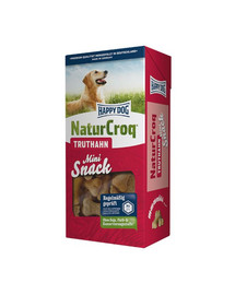 Happy Dog NaturCroq Mini Snack su kalakutiena 350 g