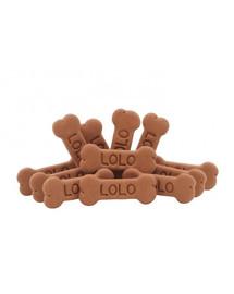 LOLO PETS sausainiai kauliukai šunims L šokoladiniai 17 kg