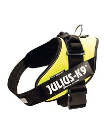 Trixie petnešos Julius-K9 Idc, 4 / XL 96–138 cm, geltonos