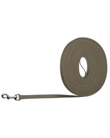 Trixie Easy Life Tracking Leash, 10 m /17 mm, Taupe