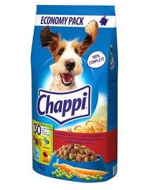 CHAPPI sausas šunų maistas su jautiena ir vištiena 9 kg
