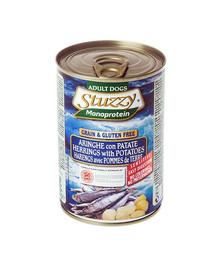 Stuzzy Monoprotein Herring Potato - su silke ir bulvėmis 0.4 kg