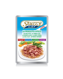 Stuzzy Ham Veal - su kumpiu ir veršiena drebučiuose 100 g
