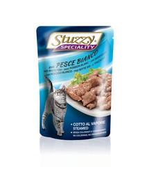 Stuzzy Speciality White Fish konservai katėms su menke 100 g