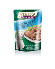 Stuzzy Speciality White Fish konservai šunims su menke 100 g