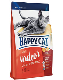 Happy Cat Fit & Well Indoor Adult su jautiena 1,4 kg