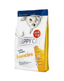 Happy Cat Sensitive Grainfree su triušiena 4 kg
