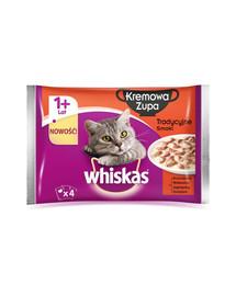 Whiskas tradicinė kreminė sriuba 4 X 85 g X 13