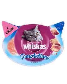 WHISKAS Temptations su lašiša 60 g