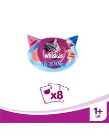 Whiskas Temptations skanėstas su lašiša 60 g X 8