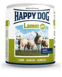 Happy Dog Lamb Pure konservai su ėriena šunims 800 g