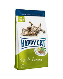 Happy Cat Fit & Well Adult su ėriena 300 g