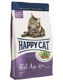 Happy Cat Fit & Well Best Age 10+ su paukštiena 1,4 kg