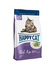 Happy Cat Fit & Well Best Age 10+ su paukštiena 4 kg