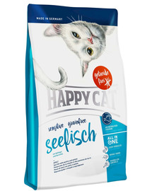 Happy Cat Sensitive Grainfree su jūros žuvimi 300 g