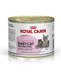 Royal Canin Babycat Instinctive 195 g - konservuotas ėdalas
