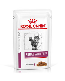 Royal Canin Renal Feline jautiena 12 X 85 g