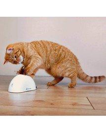 Trixie interaktyvus žaislas katėms su judesio davikliu Feather Hider