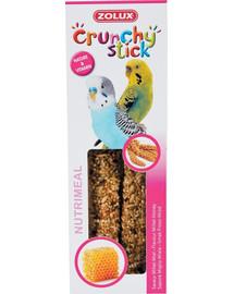 Zolux Crunchy Stick burbuolės papūgoms su soromis ir medumi 85 g