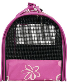 Zolux kelioninis krepšys Flower didelis violetinis
