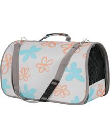 Zolux kelioninis krepšys Flower didelis pilkas