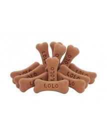 Lolo Pets sausainiai šunims šokoladiniai kauliukai gyvūnėliai 17 kg