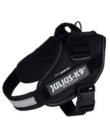 Trixie petnešos Julius-K9 Idc 2 / L–XL 71–96 cm / 50 mm juodos