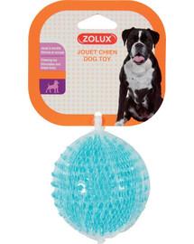 Zolux žaisliukas TPR Pop kamuoliukas su dygliukais 8 cm turkio spalvos