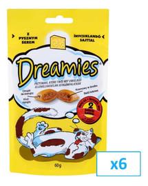 Dreamies su sūriu 60 g X6