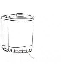 Aquael Turbo/Circulator 1000/1500 (N) filtro konteineris