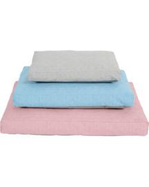 Zolux gultas su užvalkalu Levika 110 cm rožinis